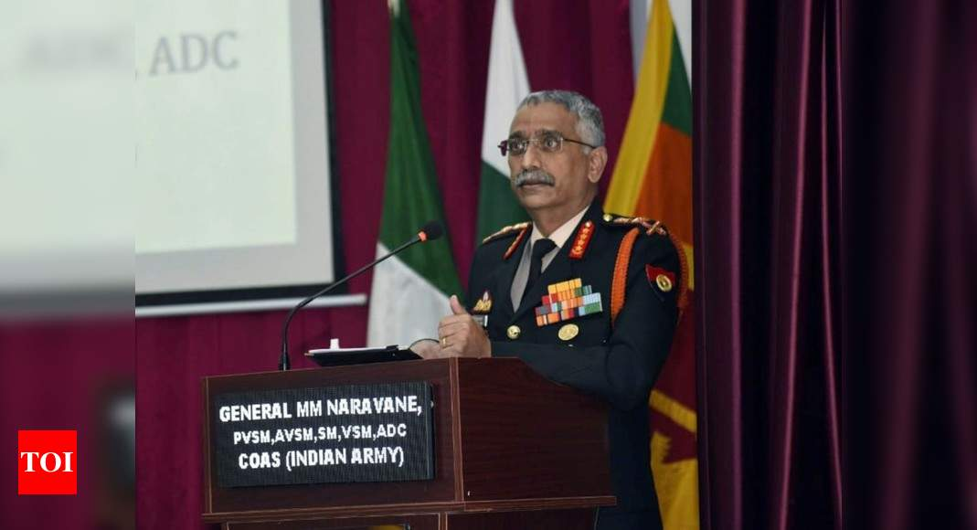 Info security biggest challenge to national security: Army chief | India News – Times of India