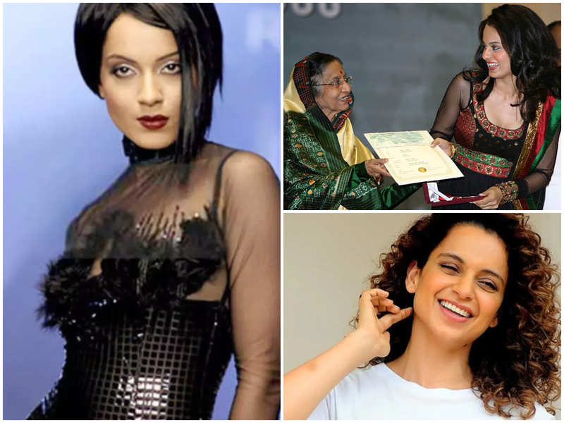 Kangana Ranaut reminisces 'special memories' of winning her first National Award; 'I designed my own suit didn't have enough money to buy something special'