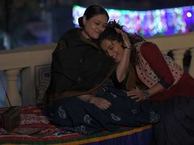 Taapsee's BTS moment from Rashmi Rocket