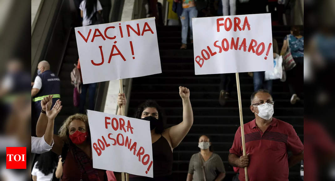 Brazil late start on vaccinations fuels public ire
