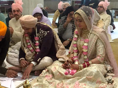Karan ties the knot with Nidhi in Delhi