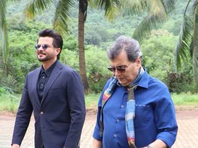 Anil Kapoor wishes Subhash Ghai on b'day