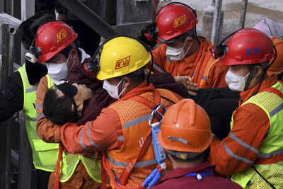 China rescues first worker trapped in Shandong gold mine, state media reports