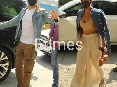 Sidharth & Kiara step out for a family lunch