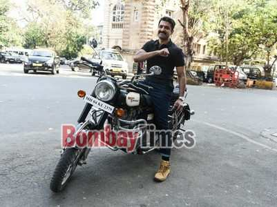 Eijaz spotted biking around Horniman Circle