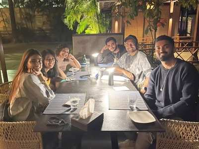 Athiya enjoys dinner with beau KL Rahul