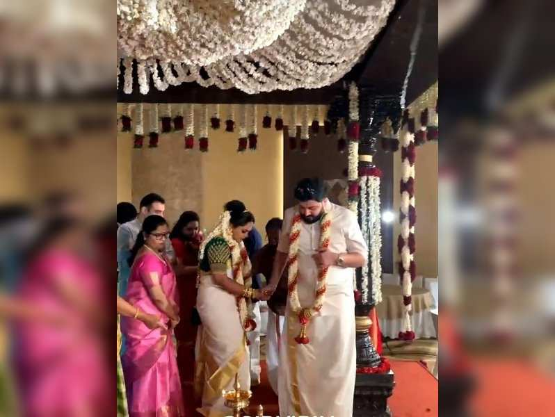 Composer Siddharth Vipin ties the knot