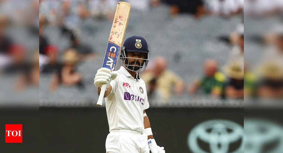 Melbourne century very special as it was crucial for series victory, says Ajinkya Rahane - Times of India