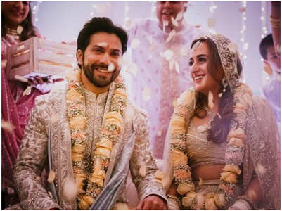 Varun and Natasha are officially married now