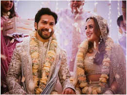 It's official! Varun & Natasha are now married