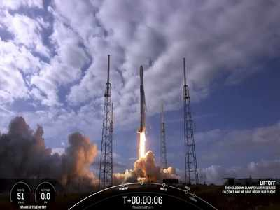 SpaceX launches 10 more Starlink satellites during record-breaking launch