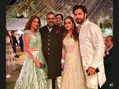Inside pics from Varun-Natasha's wedding