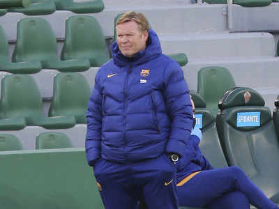 Elche 0-2 Barcelona: De Jong keeps Koeman's men in title hunt