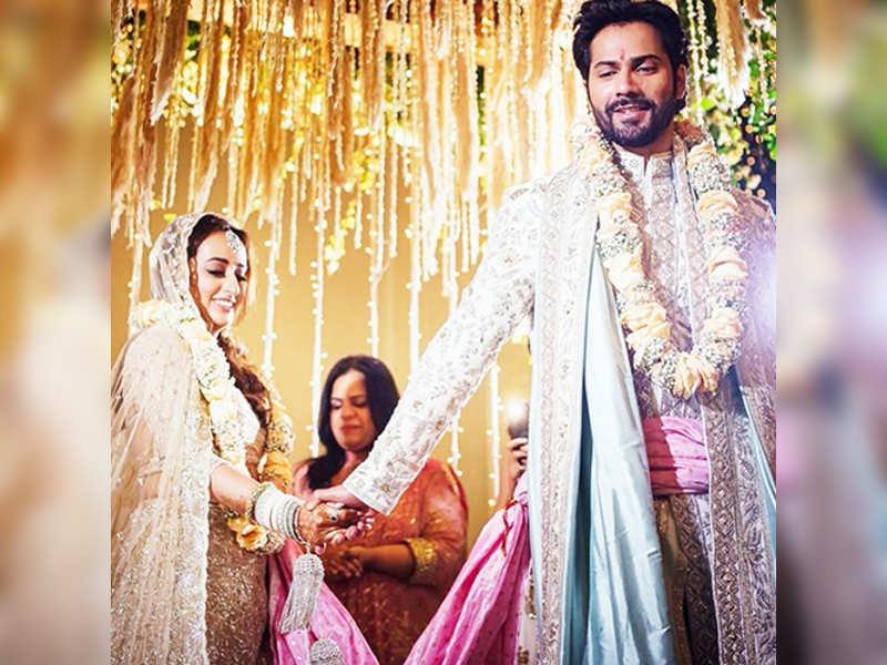 Wedding pictures of Varun Dhawan