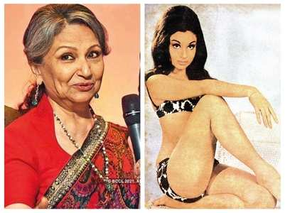 Sharmila Tagore on her old bikini cover shoot