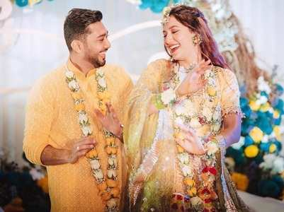 Gauahar-Zaid complete a month of marriage