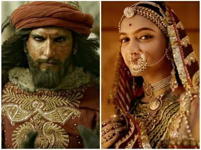 DP, Ranveer share posts as Padmaavat turns 3