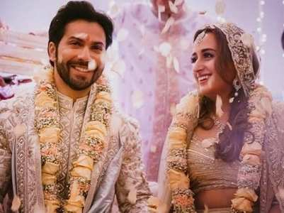 Varun made a filmy entry on Salman's song