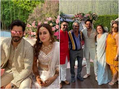 Deeya attends Varun-Natasha's wedding