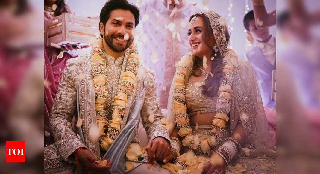 Shashank Khaitan pens a note for newlywed Natasha Dalal: Dealing with Varun requires immense patience and you have shown enough – Times of India