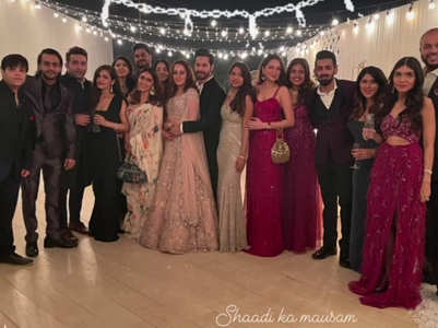 Inside pic from Varun-Natasha's sangeet bash