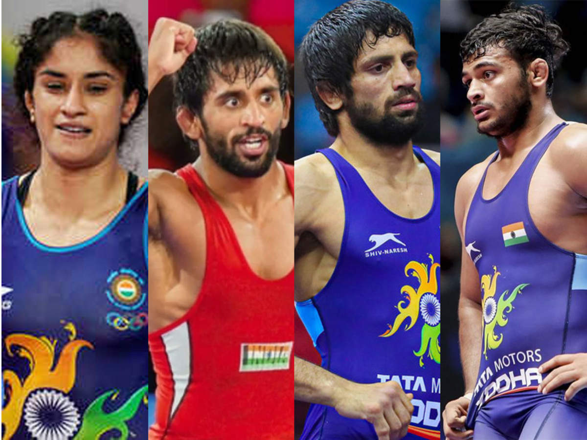 Indian wrestlers aiming for four medals in Tokyo Olympics, says WFI  president Brij Bhushan Sharan | More sports News - Times of India