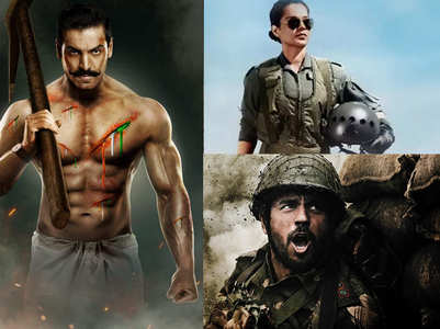 Bollywood's upcoming patriotic films