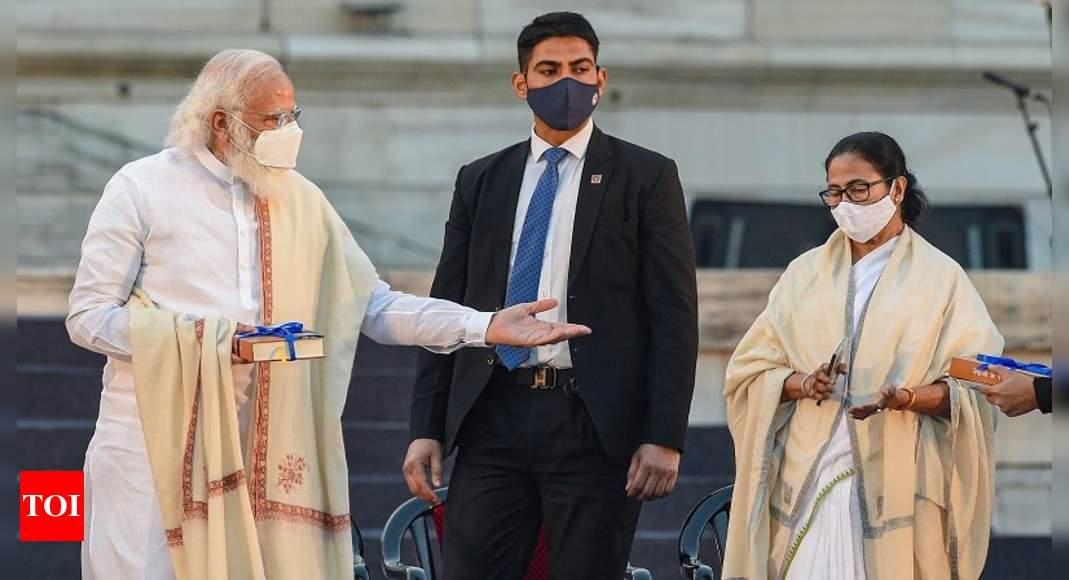 Row over Mamata Banerjee refusing to speak after 'Jai Shri Ram' chants: Who said what | India News – Times of India