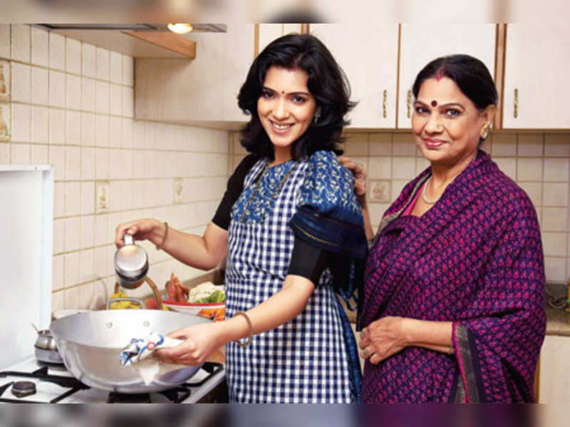 Kitchen tales: Ask her for tips when you cook