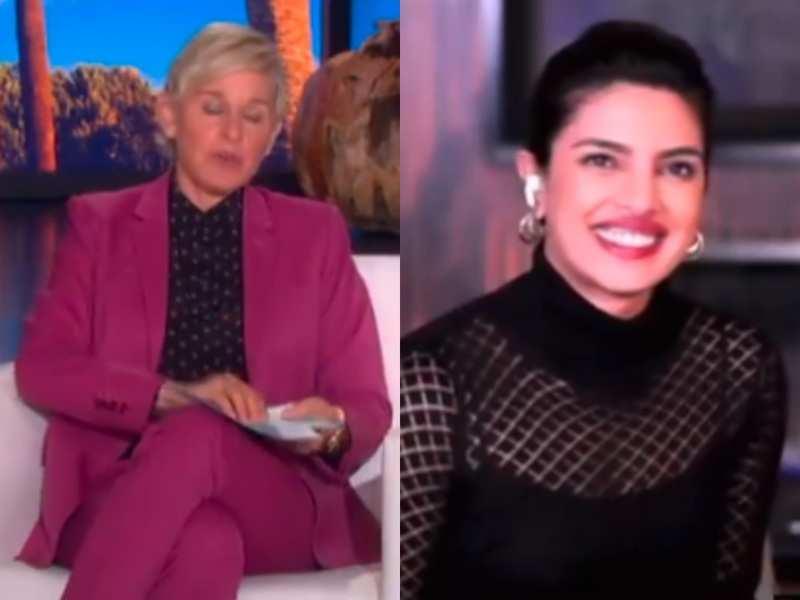 Priyanka Chopra on Ellen's show: Nick Jonas is super fancy and a lot neater than I am