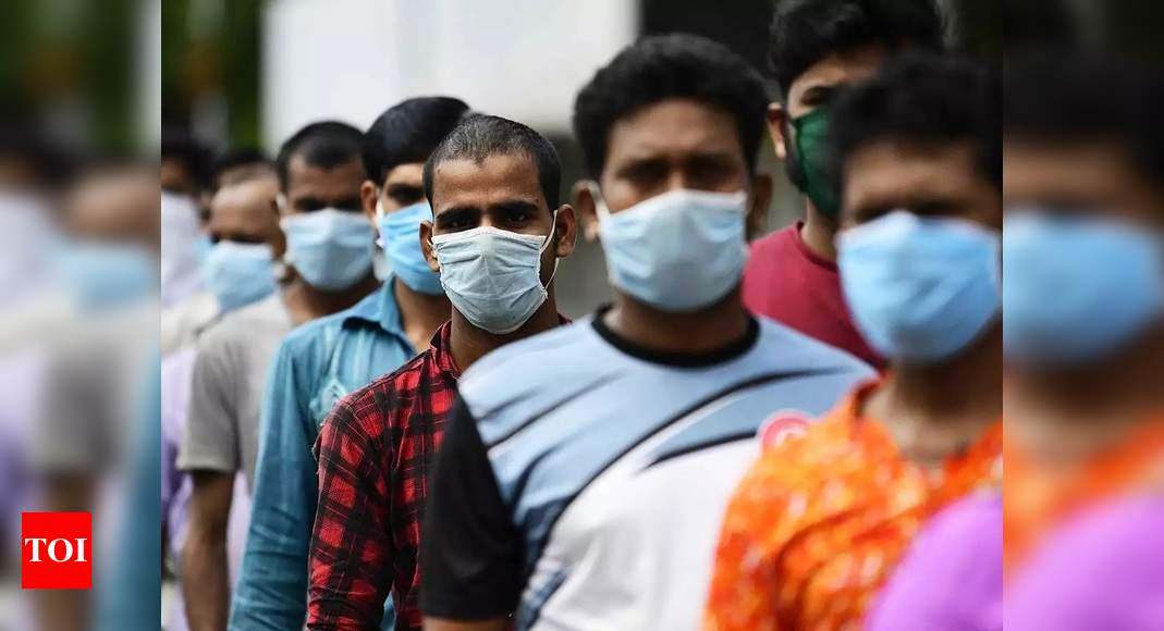 India records 9,102 fresh Covid-19 cases, lowest in 8 months | India News – Times of India