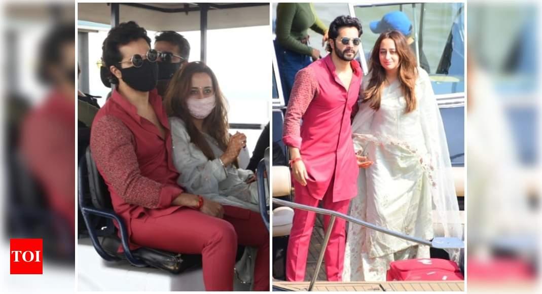PICS: Newlyweds Varun Dhawan and Natasha Dalal return to Mumbai – Times of India ►