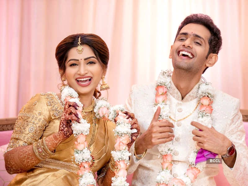 Actress Nakshathra Nagesh gets engaged to her long-term boyfriend Raghav (Photo - Instagram)