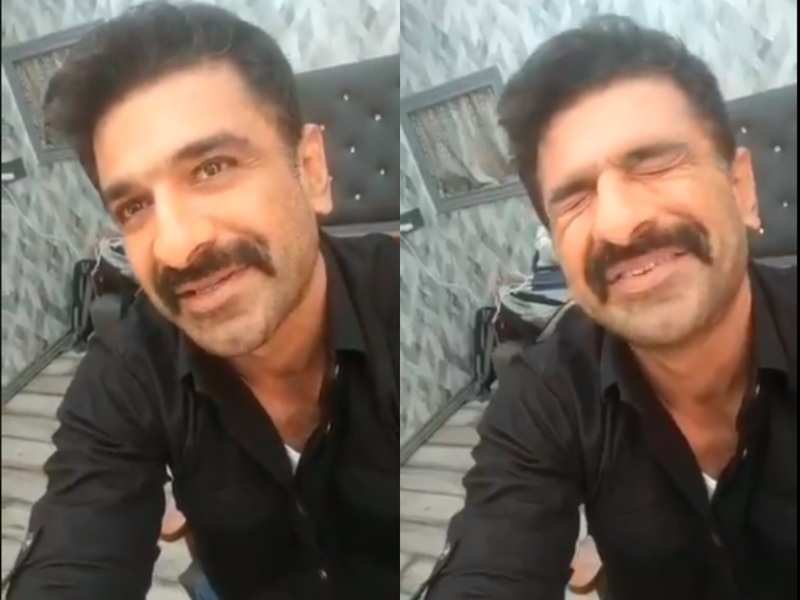 Bigg Boss 14: Eijaz Khan blushes as he shares his favourite memory with Pavitra Punia inside the house; watch video