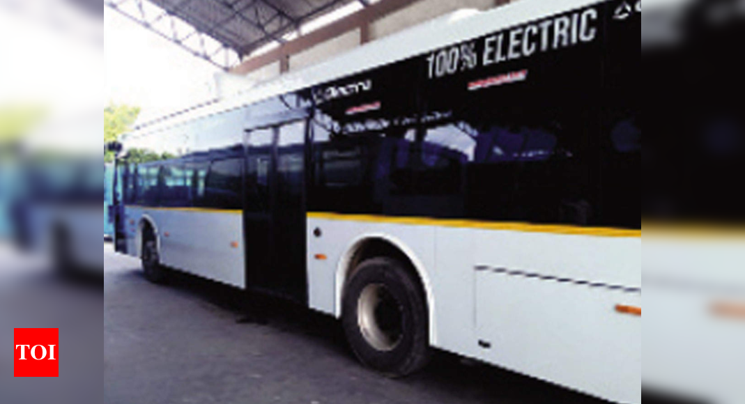 Andaman public transport goes green with NTPC e-buses | India News – Times of India