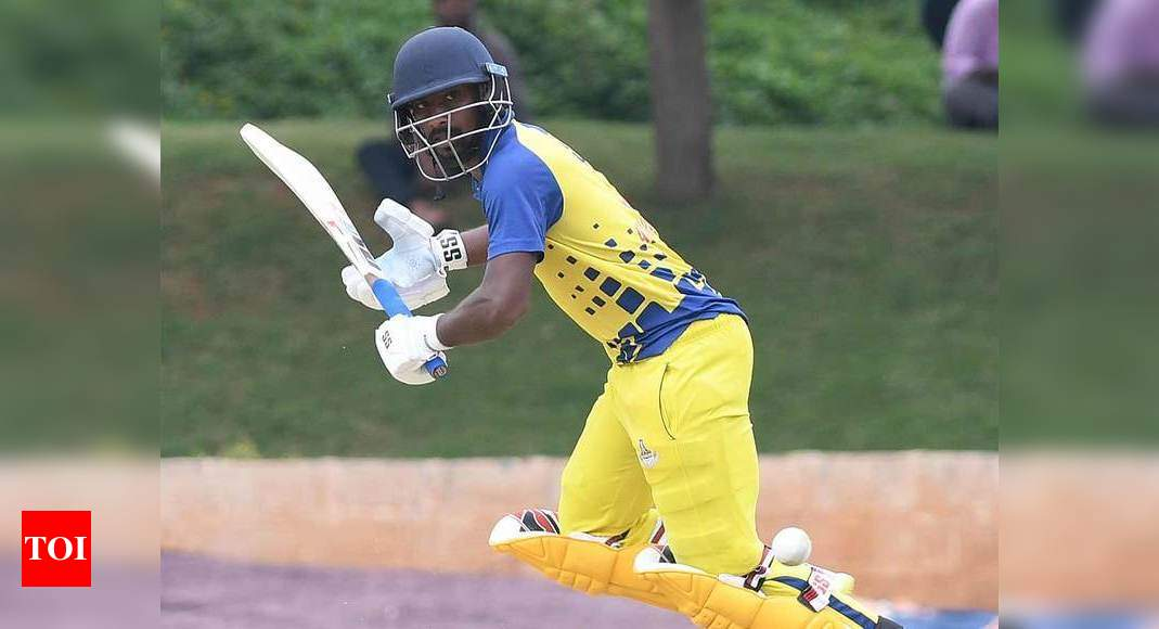 Syed Mushtaq Ali Trophy: Aparajith stars as Tamil Nadu make semis | Cricket News – Times of India