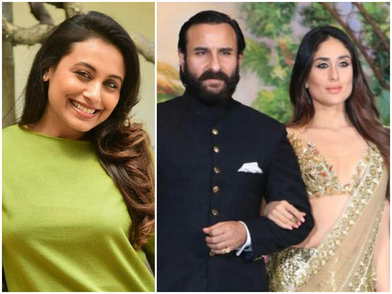 When Saif Ali Khan revealed Rani Mukerji's 'manly advice' to him on his relationship with Kareena Kapoor Khan