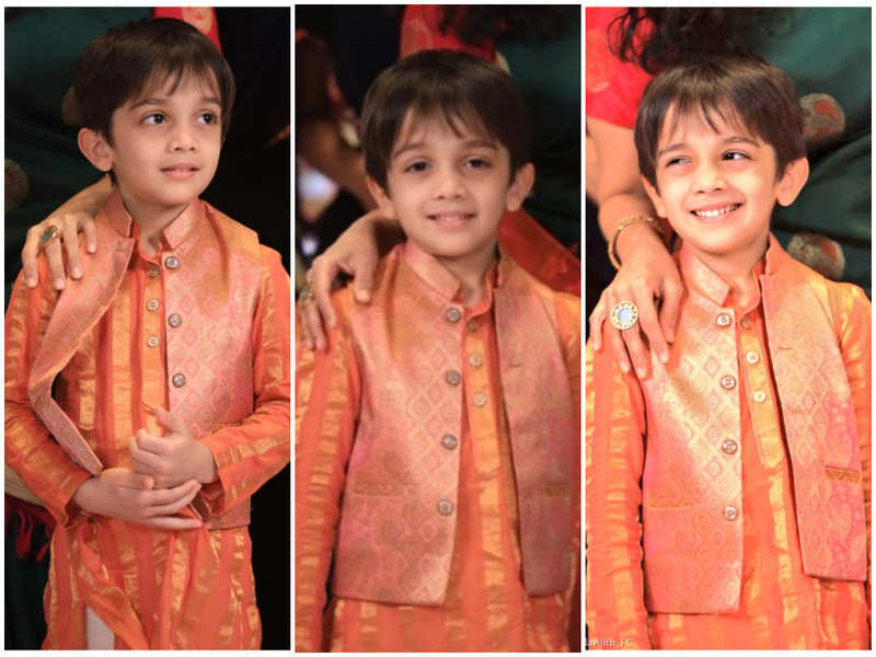 Ajith's son Aadvik Ajith's cute pictures go viral