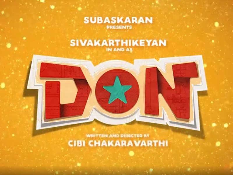 Sivakarthikeyan's next is 'DON' with debutante director Cibi Chakaravarthi
