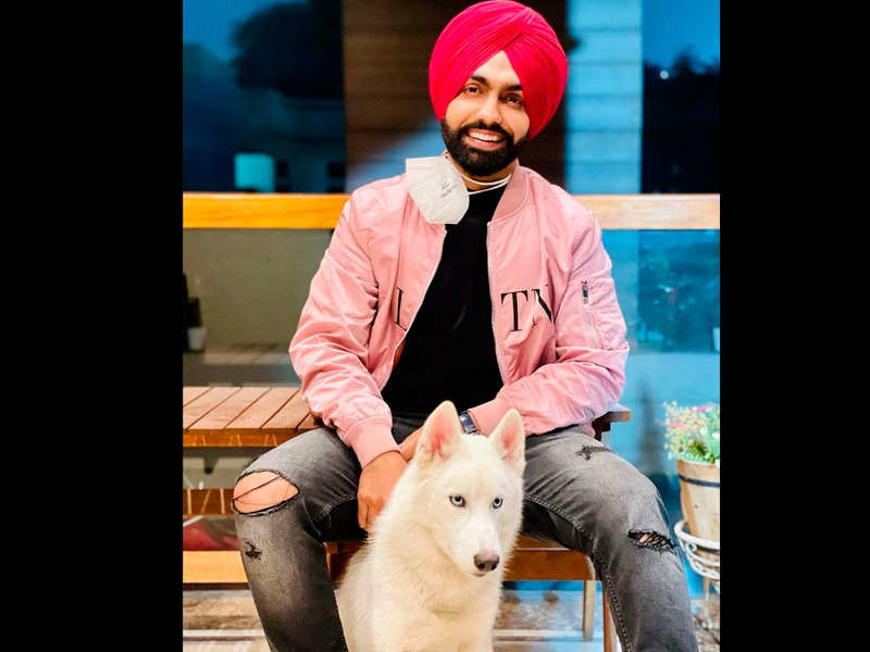 Exclusive! Did you know Ammy Virk sent his furry pal Burfi to a training school?