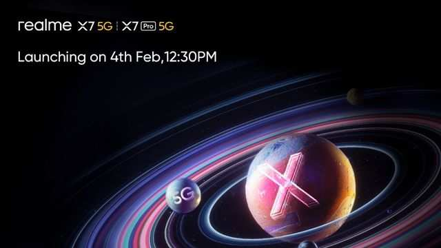Realme X7 and X7 Pro 5G phones set to launch in India on February 4