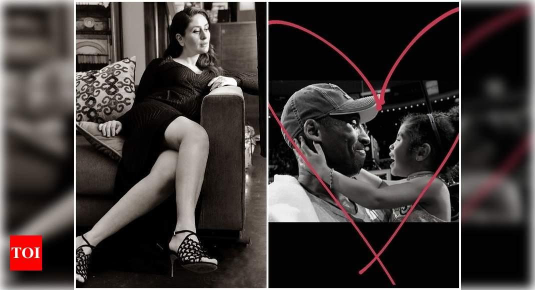 Kareena Kapoor Khan shares a heartfelt post on Kobe and Gianna Bryant's 1st death anniversary – Times of India