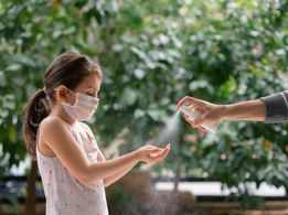 COVID-19: Hand sanitizers can hurt children's eyes