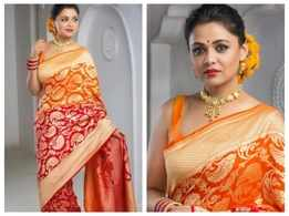 Prarthana Behere slays in saree