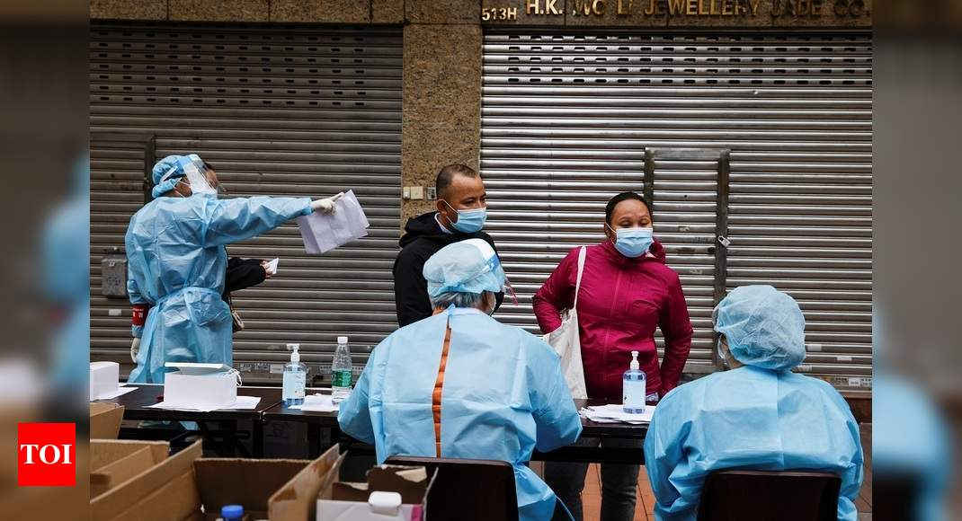 China Anal Swab Covid Test: China deploys anal swabs to test for Covid-19 | World News – Times of India
