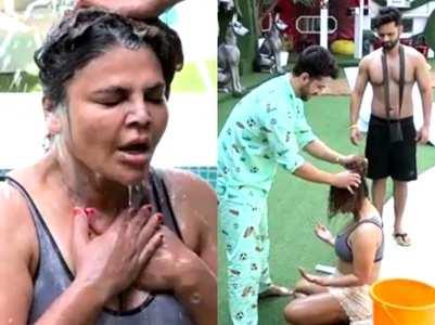 BB: Rakhi gets headwash from Rahul-Aly