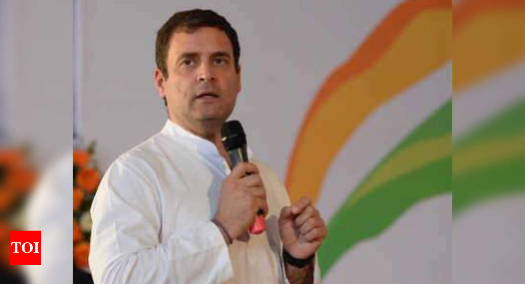 Appeal to Modi government that anti-agriculture laws be taken back immediately: Rahul Gandhi