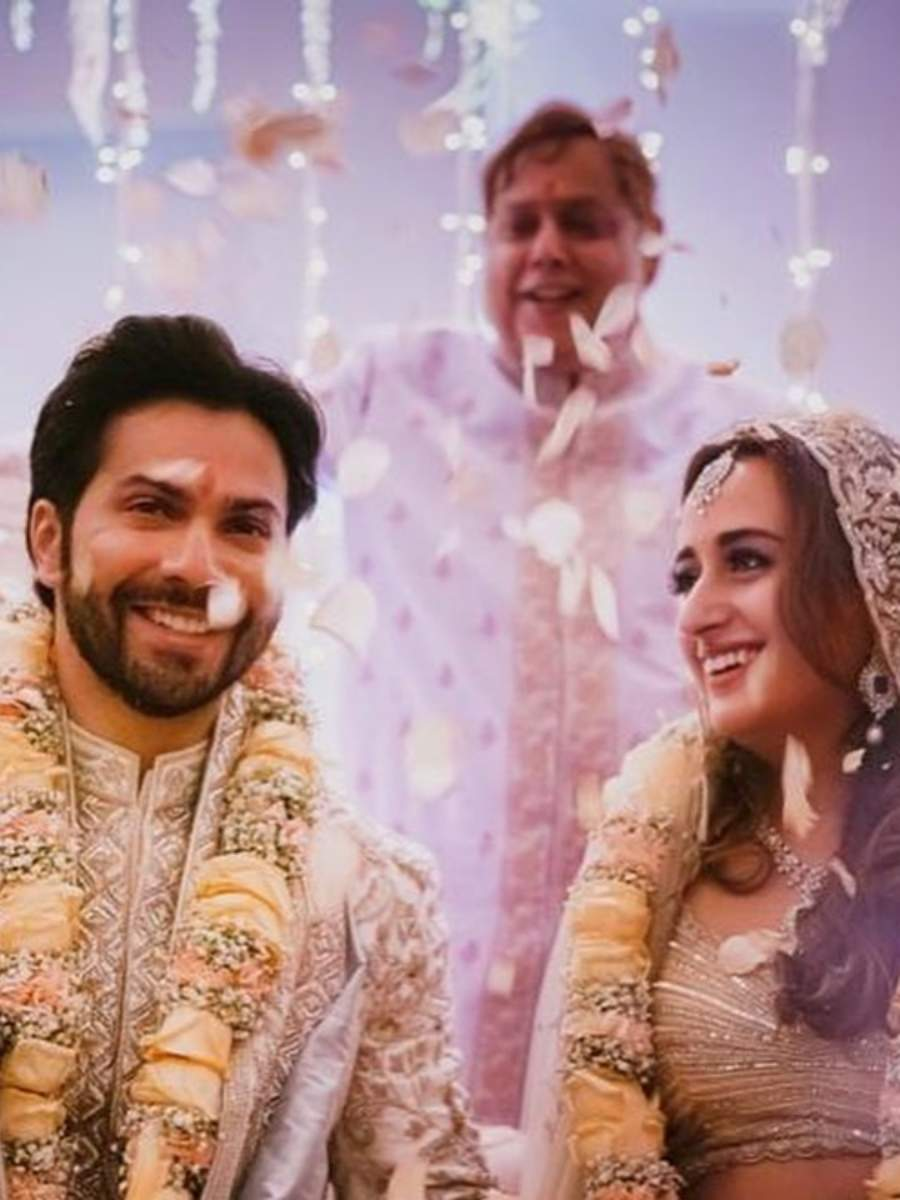 Inside pics from Varun & Natasha's wedding