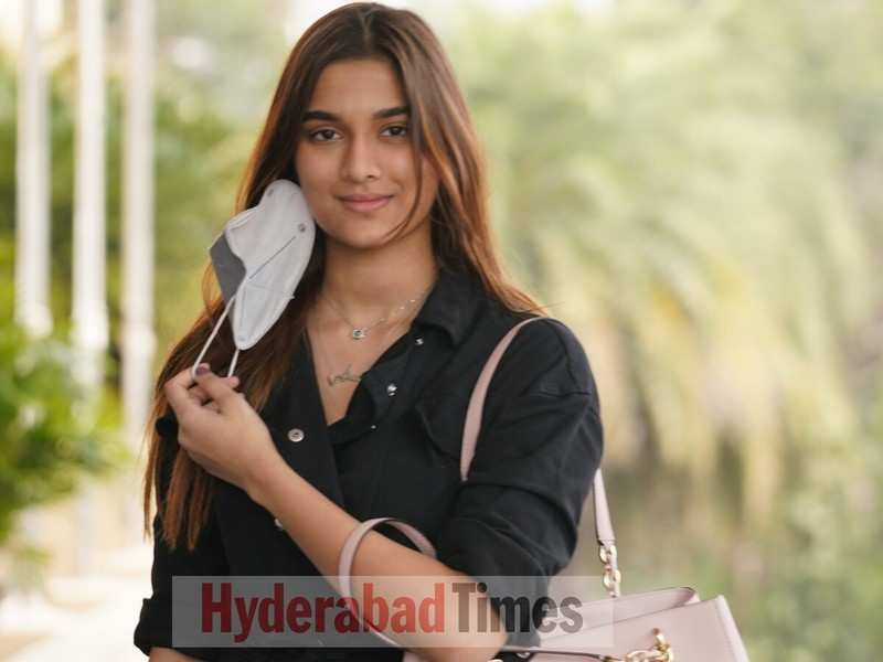 Spotted: Saiee Manjrekar who will make her Tollywood debut with Major is all smiles going about the city