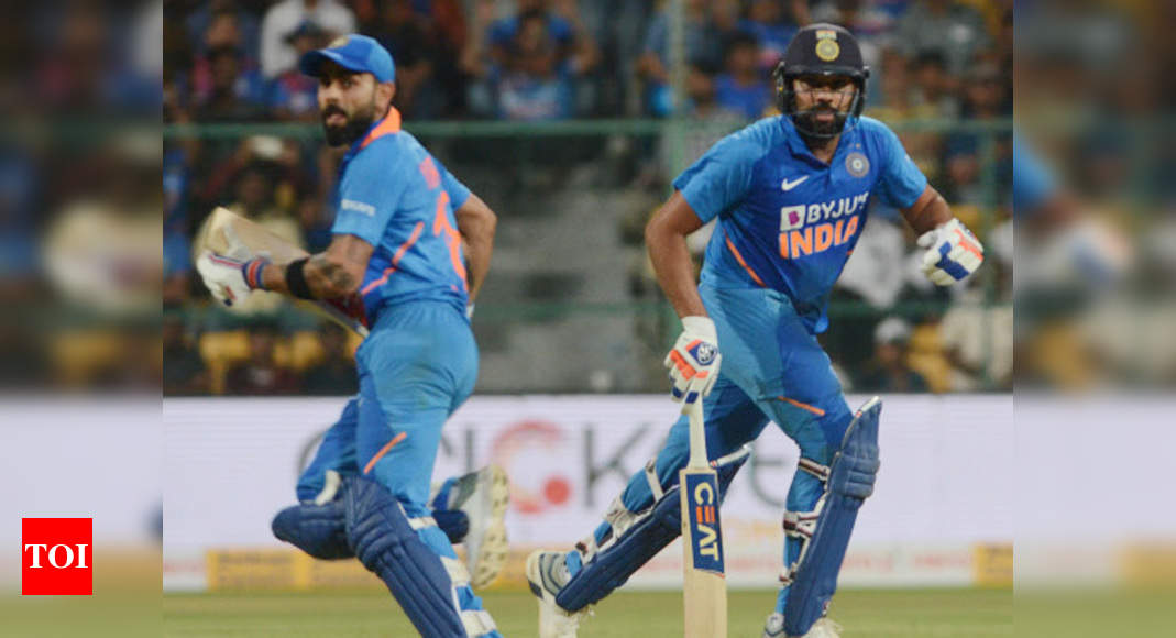 Kohli, Rohit retain top two positions in ICC ODI rankings